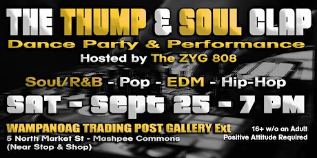 The THUMP & SOUL Clap tickets