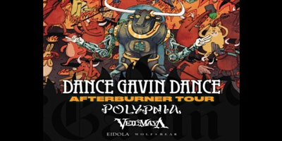 DANCE GAVIN DANCE – AFTERBURNER TOUR – NIGHT 2