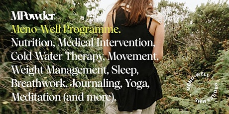 MPowder Meno-Well Programme: Intention setting in midlife tickets