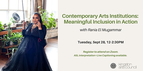 Contemporary Arts Institutions: Meaningful Inclusion in Action tickets