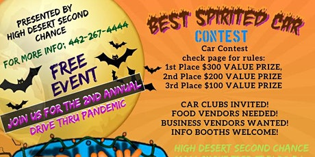 High Desert Second Chance 2nd Annual Trunk Or Treat Event tickets