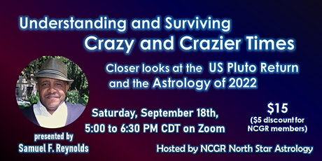 Understanding and Surviving Crazy and Crazier Times tickets