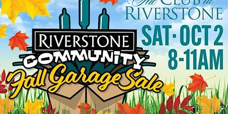 Riverstone Fall Garage Sale tickets
