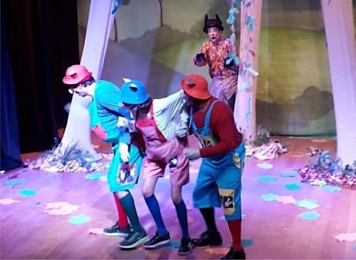 Imagem do evento Desconto: Três Porquinhos, um lobo bonzinho, no Teatro BTC