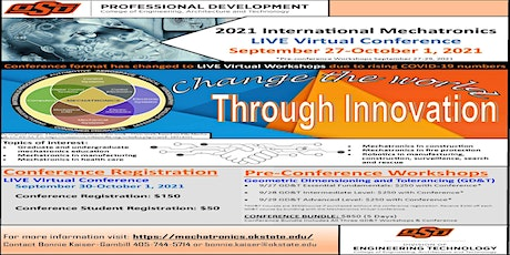 2021 International Virtual Mechatronics Conference and Workshops tickets