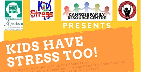 Kids Have Stress Too! Evening Session tickets