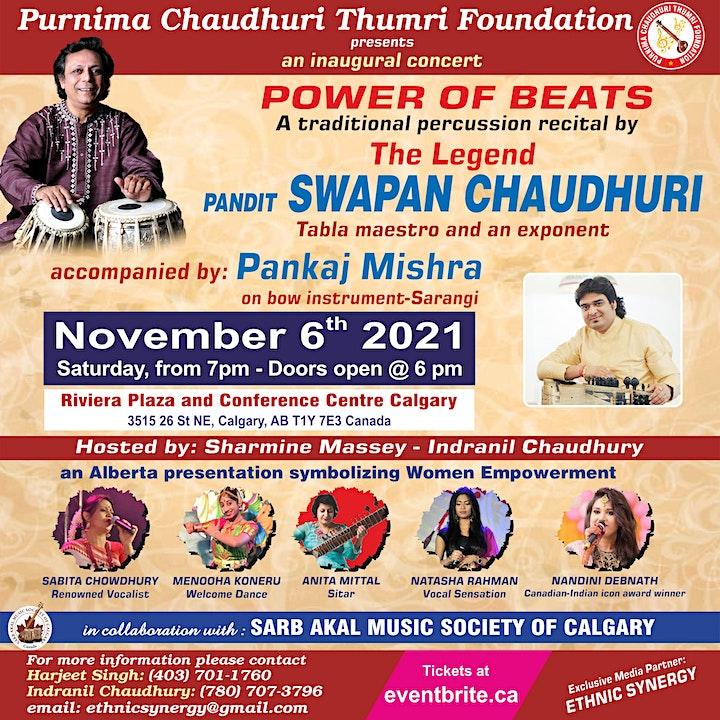 Power of Beats: Presenting The Legend Swapan Chaudhuri image
