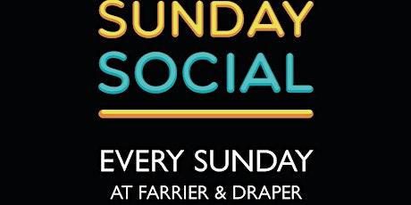 Sunday Social : BACK AT LAST tickets