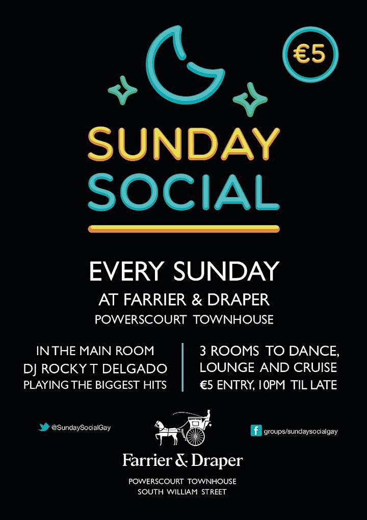 Sunday Social : BACK AT LAST image