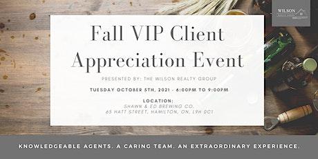 WRG Fall VIP Client Appreciation Event tickets