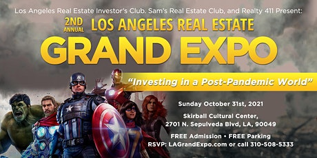 2nd Annual Los Angeles Real Estate Grand Expo tickets