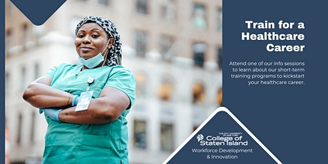 Train for a Healthcare Career tickets