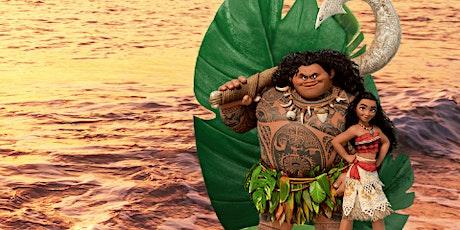Desconto:  Moana e Maui, Um Aventura no Mar Cantado ao Vivo no Teatro BTC tickets