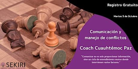 Comunicación y Manejo de Conflictos entradas