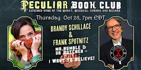 Oct 28th at 7PM: Halloween ! Brandy Schillace, Frank Spotnitz, & Heads tickets
