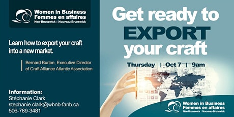 Get Ready to Export Your Craft tickets