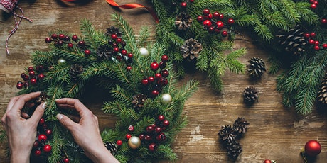 Wine & Pine - Wreath Making at Browne Family Vineyards tickets