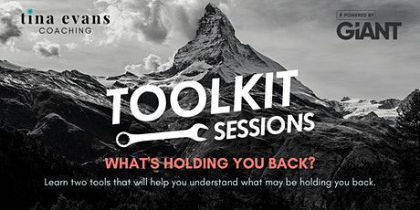 Leadership Toolkit Session - What's Holding You Back tickets