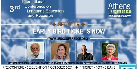 3rd International Conference on Language Education and Research tickets