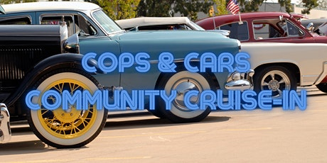 """Car Registration for """"Cops and Cars"""" Community Cruise-In tickets"""