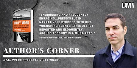 Author's Corner x Eyal Press: Dirty Work tickets