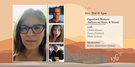 Paperback Writers: Authors on Music & Words tickets
