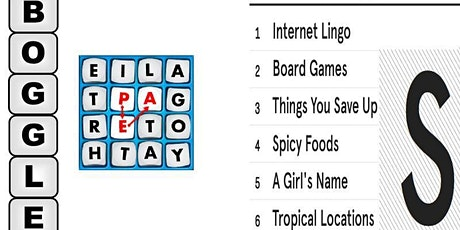 Word Game Night tickets