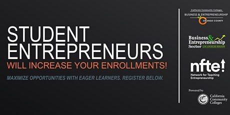 Increasing FTEs with Student Entrepreneur Strategies tickets