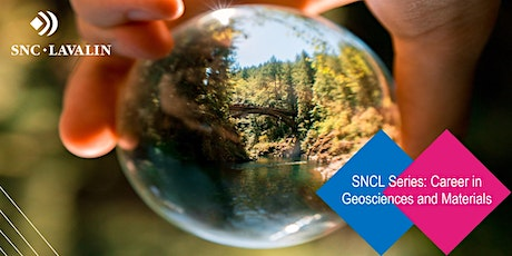 SNCL Series: Career in Geosciences and Materials tickets