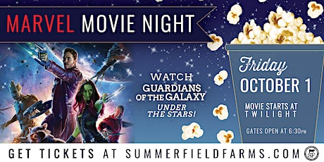 Marvel Movie Night: Guardians of the Galaxy tickets