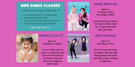 Kids Fall Dance Classes tickets