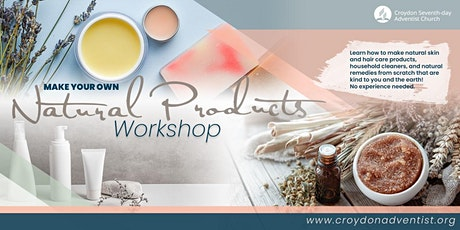 Make Your Own Natural Products Workshop tickets