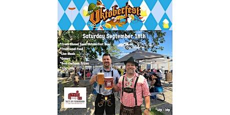 Taste of Foxborough Oktoberfest 2021 tickets