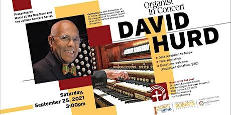 25th Anniversary Organ Concert: David Hurd tickets