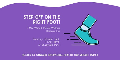Step-Off on the Right Foot! 1 Mile Walk & Mental Wellness Resource Fair tickets