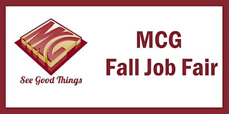 MCG Fall Job Fair tickets