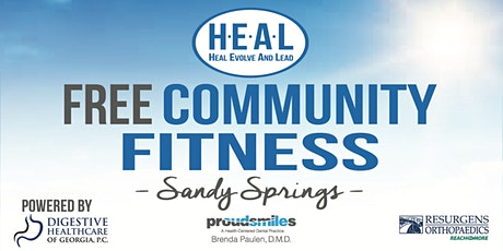 Free Community Fitness - Sandy Springs tickets