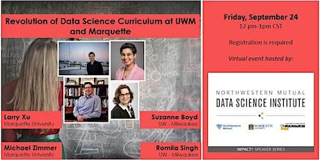 IMPACT! An NMDSI Speaker Series: Revolution of Data Science Curriculum tickets