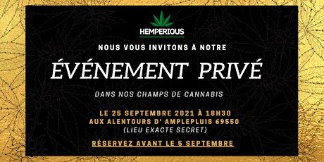 HEMPERIOUS PRODUCTEUR CBD VIP EVENT billets