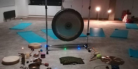 Gong bath meditation and sound journey  in London Islington Saturday tickets