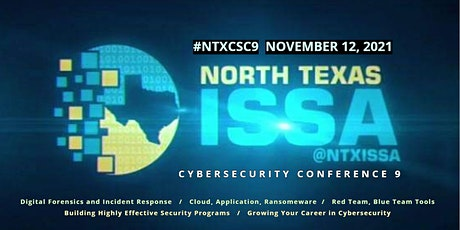 CyberSecurity Conference 9 tickets