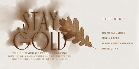 Stay Gold - at Moss Cottage tickets