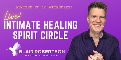 Blair Robertson Intimate Healing Circle tickets