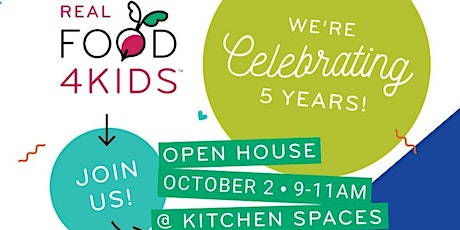 Real Food 4 Kids 5 Year Celebration tickets