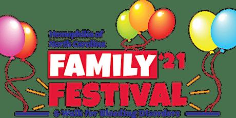 Hemophilia of North Carolina Family Festival & Walk for Bleeding Disorders tickets