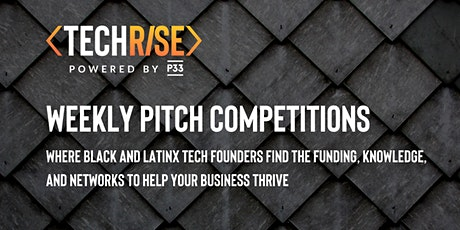 TechRise Weekly Pitch Competition - FinTech by Discover (9/24) tickets