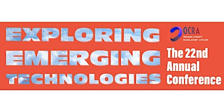 2021 Vision: OCRA's FDA ANNUAL CONFERENCE – Exploring Emerging Technologies tickets