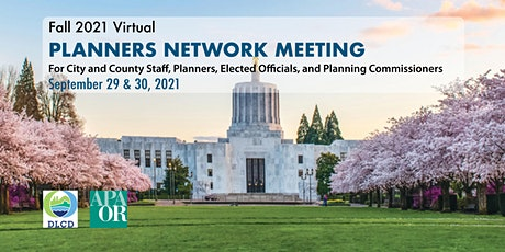 Fall 2021 Virtual Planners Network Meeting tickets