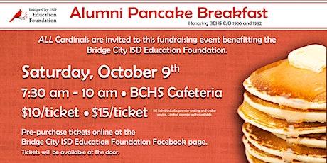 Bridge City ISD Education Foundation Alumni Pancake Breakfast tickets