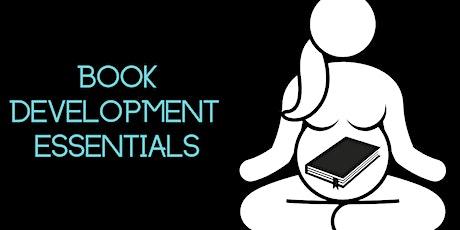 Book Development Essentials (virtual) tickets